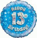 13th Birthday Balloon in a Box