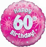 60th Birthday Balloon in a Box