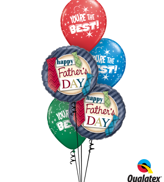 Fathers Day Standard Balloon Bouquet