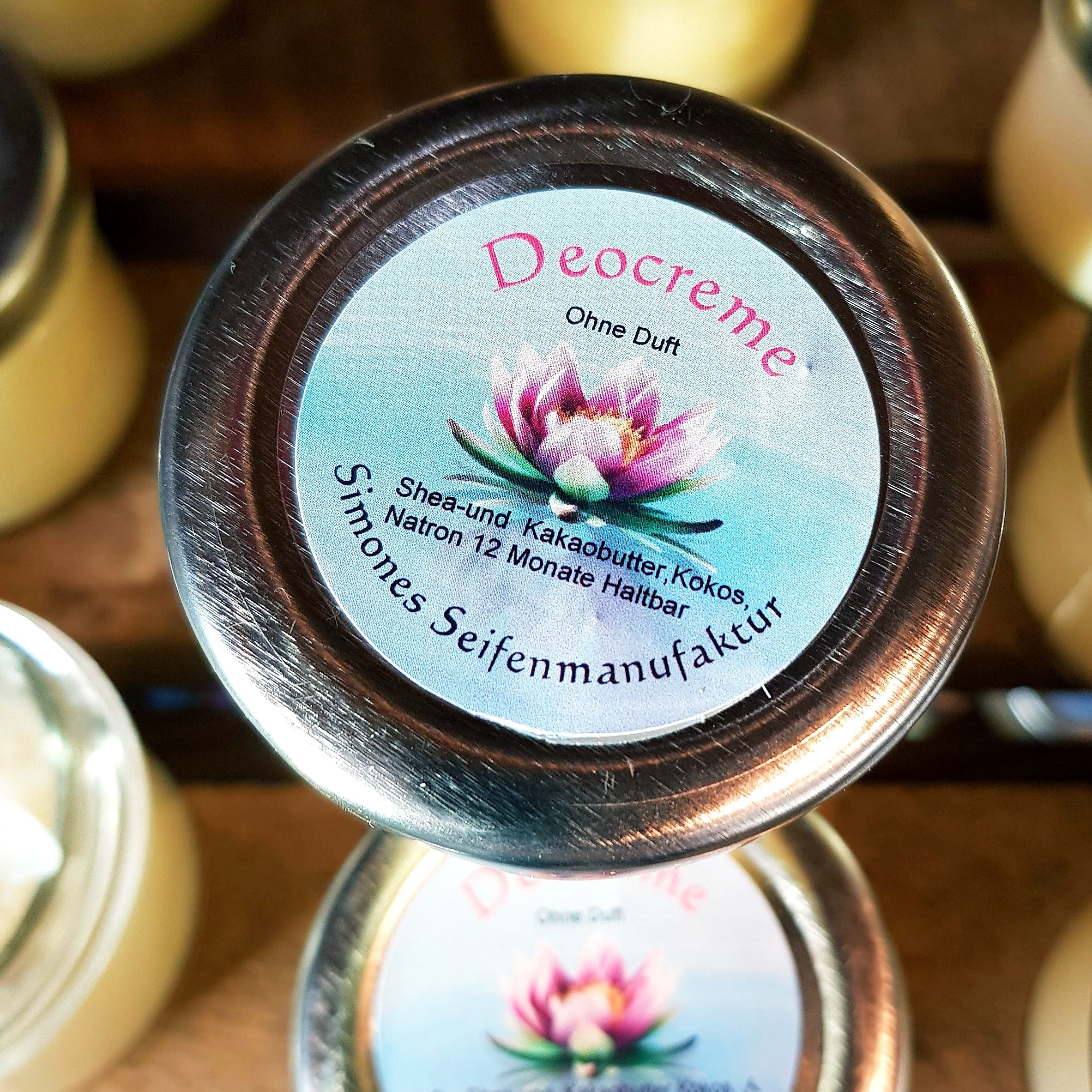 Deocreme ohne Duft