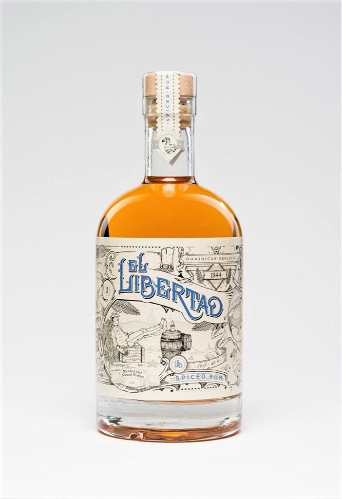 El Libertad Original Spiced Rum 70cl / 40%