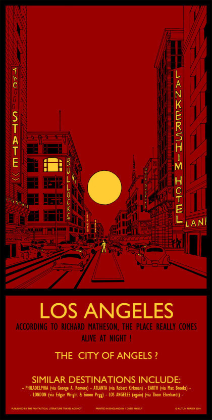 43: Los Angeles Screen Print
