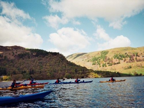 Canoeing EXPLORE  and options to complete the Explore Award