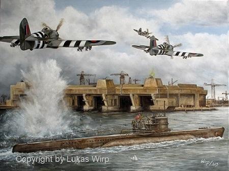 U-Boot Bunker Loirent, Frankreich