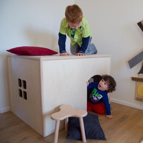 Zerlegbares Spielhaus