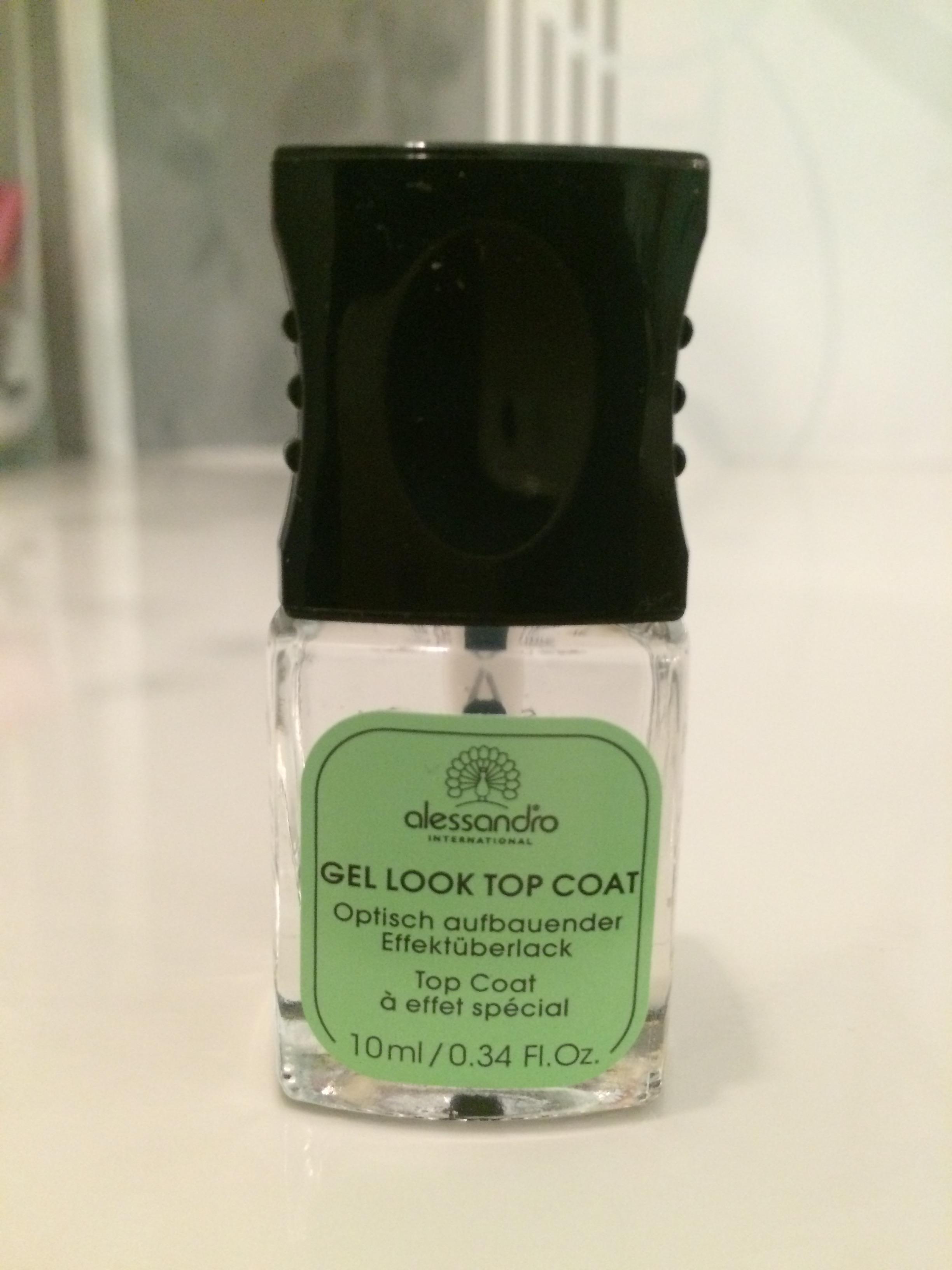Optisch aufbauende Effecktlack Gel look 100ml-99,50€