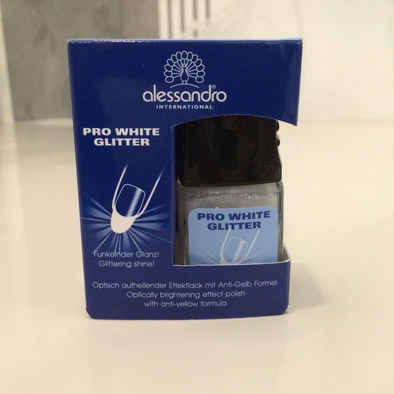 Pro White Effecktlack-Glitter 100ml-99,50€
