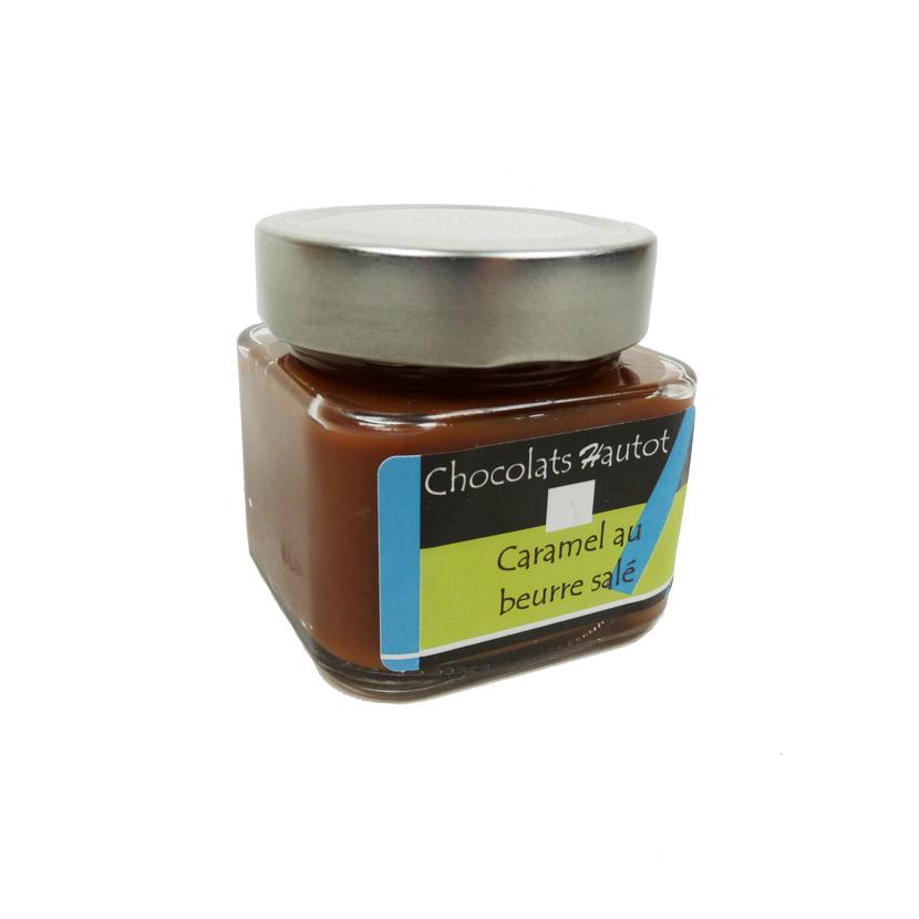 Caramel au beurre salé: 250 g