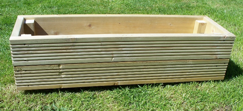 Large Decking Planter