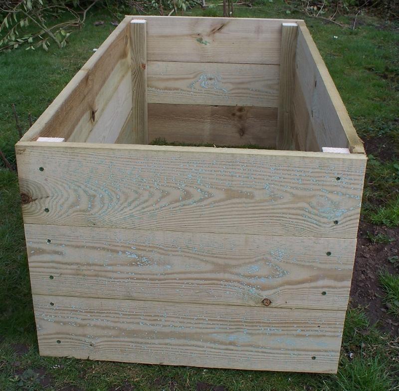 1 x 45cm high raised bed / garden border