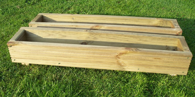 2 x Decking Planters, 600mm, 900mm 0r 1200mm