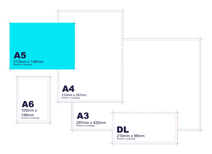 400gsm - Double Sided Invites