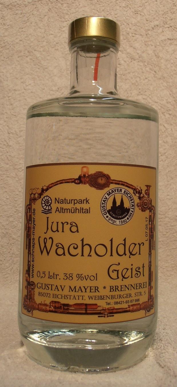 Wacholder-Geist 0,5 Ltr.