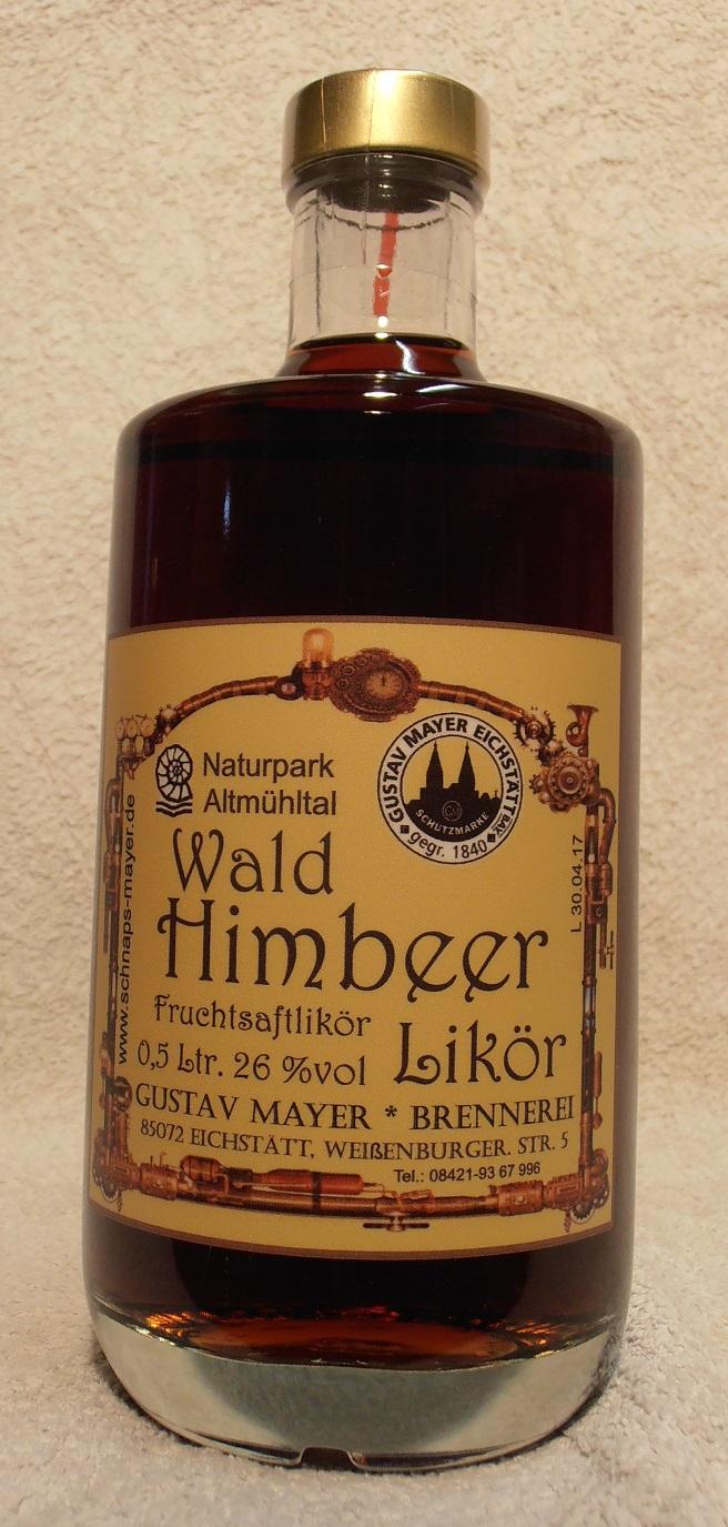 Wald - Himbeer - Likör 0,5 Ltr.