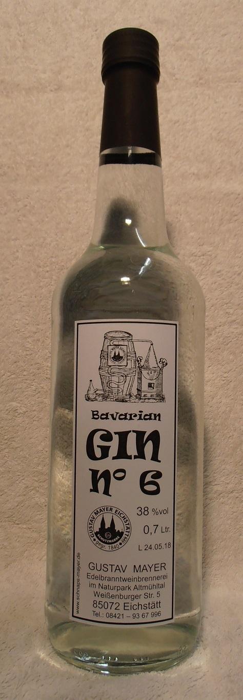 Bavarian GIN No 6            0,7 Ltr.