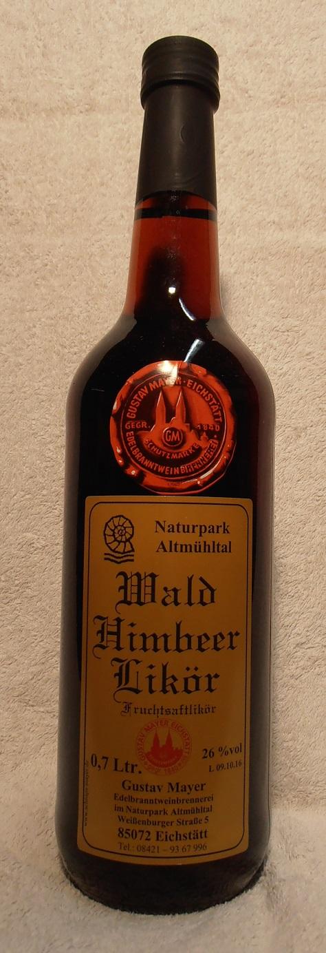 Wald - Himbeer - Likör 0,7 Ltr.