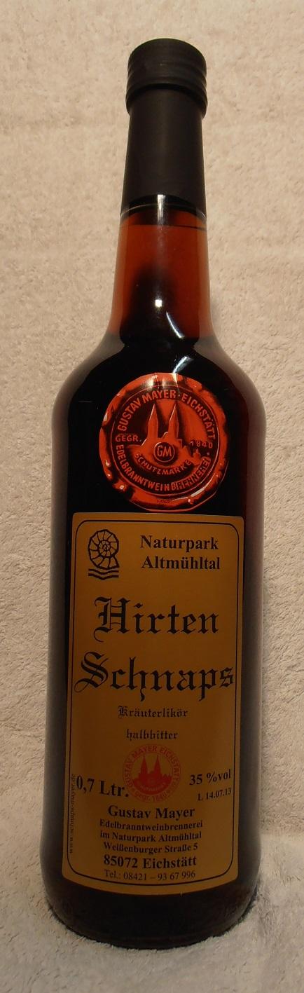 Hirten - Schnaps 0,7 Ltr.