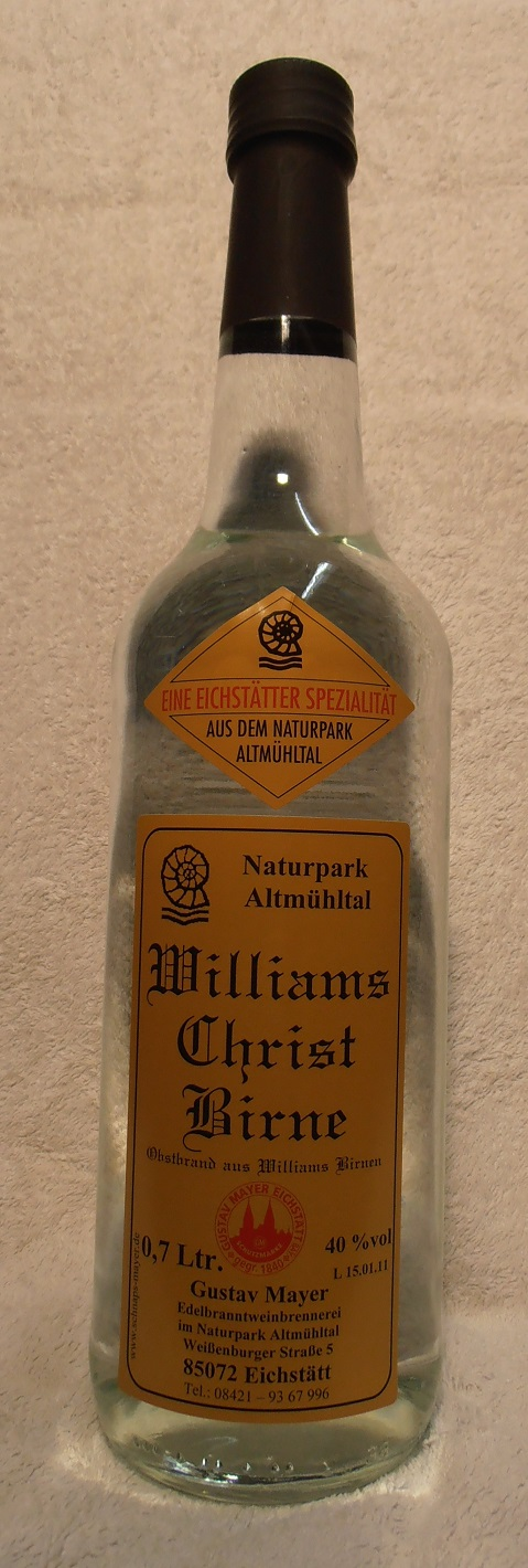 Williams-Christ-Birne 0,7 Ltr.