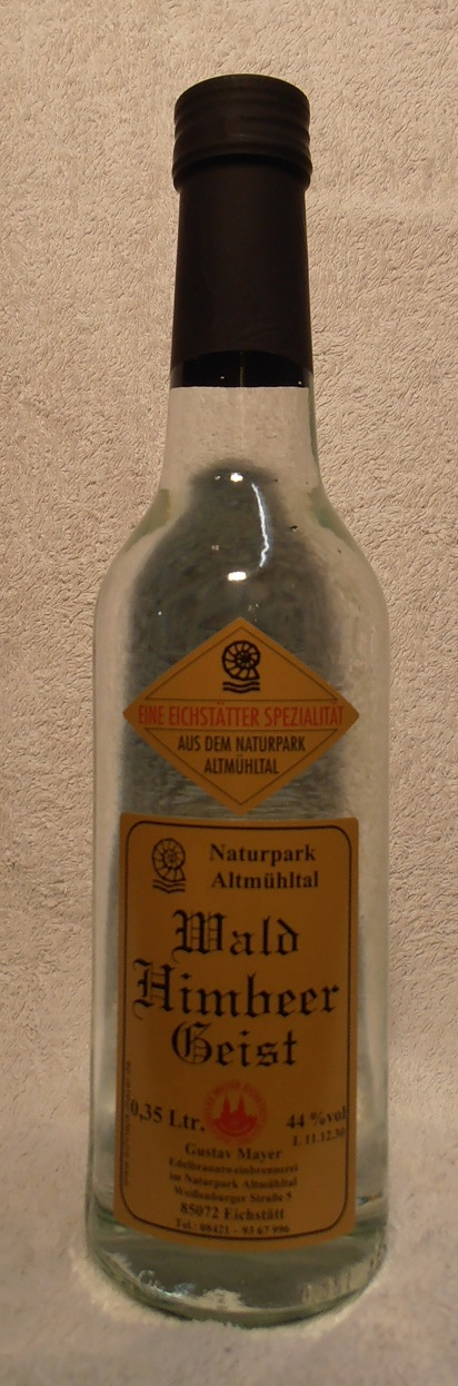 Wald-Himbeer-Geist 0,35 Ltr.