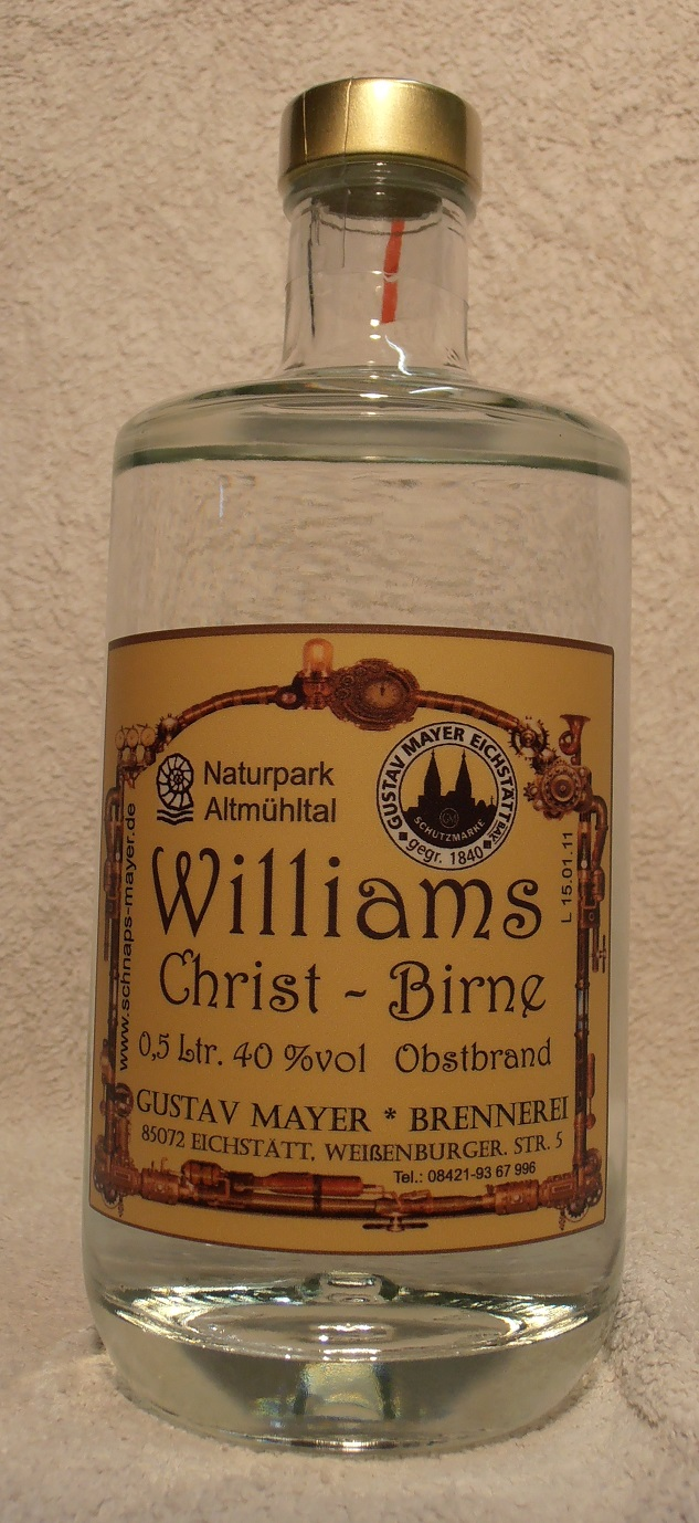 Williams-Christ-Birne 0,5 Ltr.