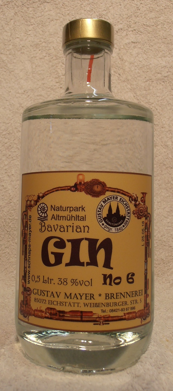 Bavarian GIN No 6            0,5 Ltr.