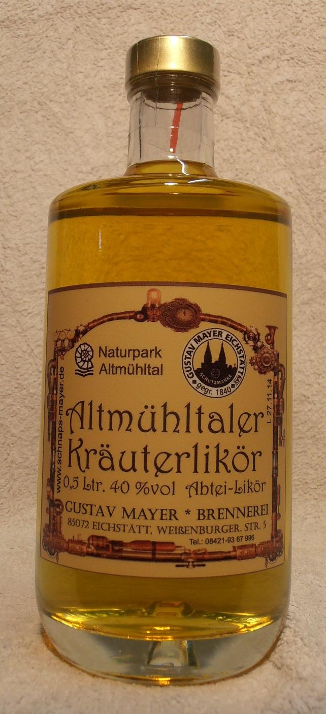 Altmühltaler Kräuterlikör 0,5 Ltr.