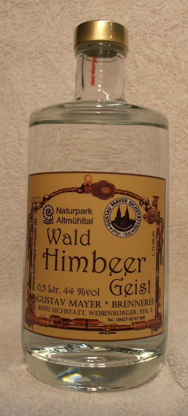 Wald-Himbeer-Geist 0,5 Ltr.