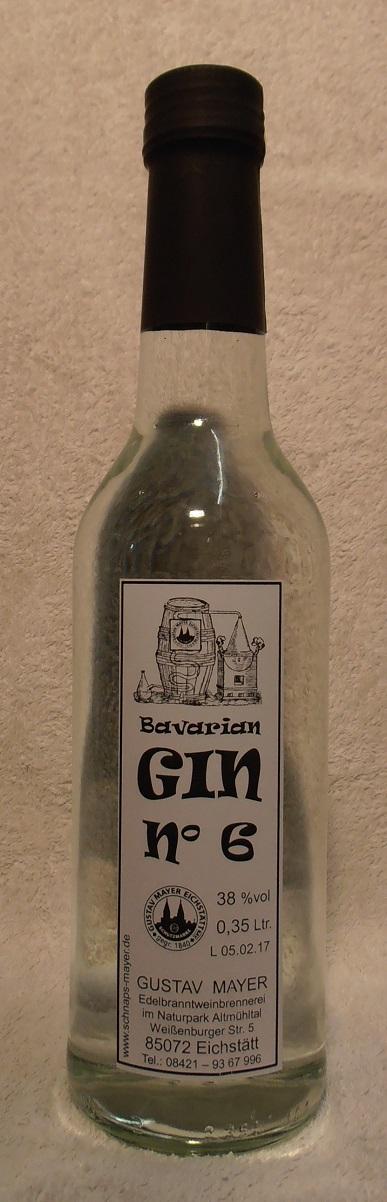 Bavarian GIN No 6            0,35 Ltr.