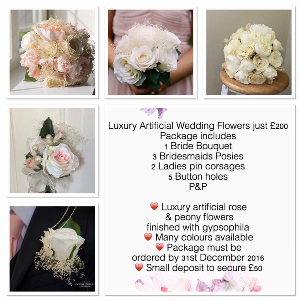 Wedding Flower Packages Cheap: Sister Sister Bouquets