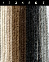 Alpaka Fino - Naturfarben