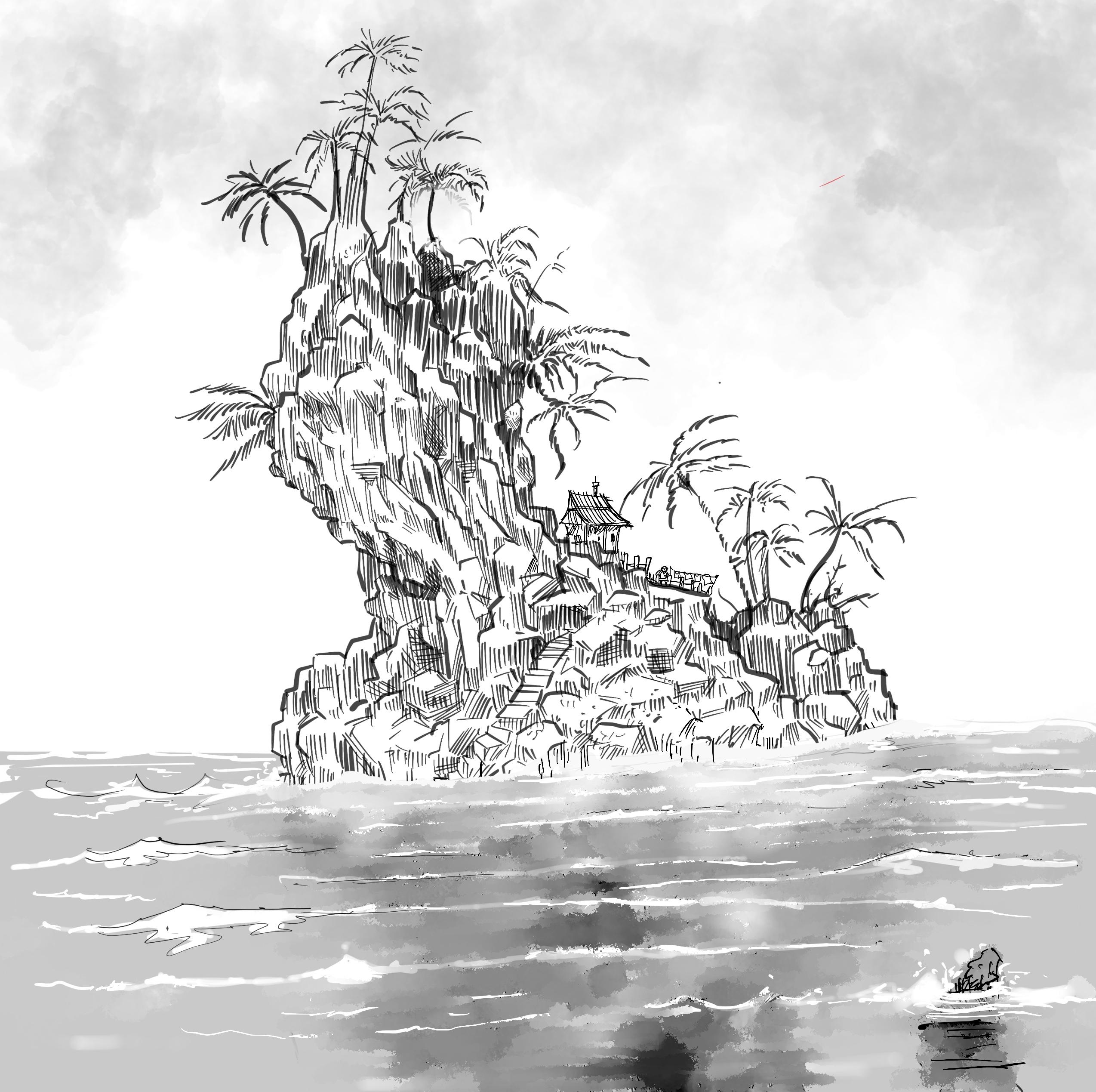 Island doodle