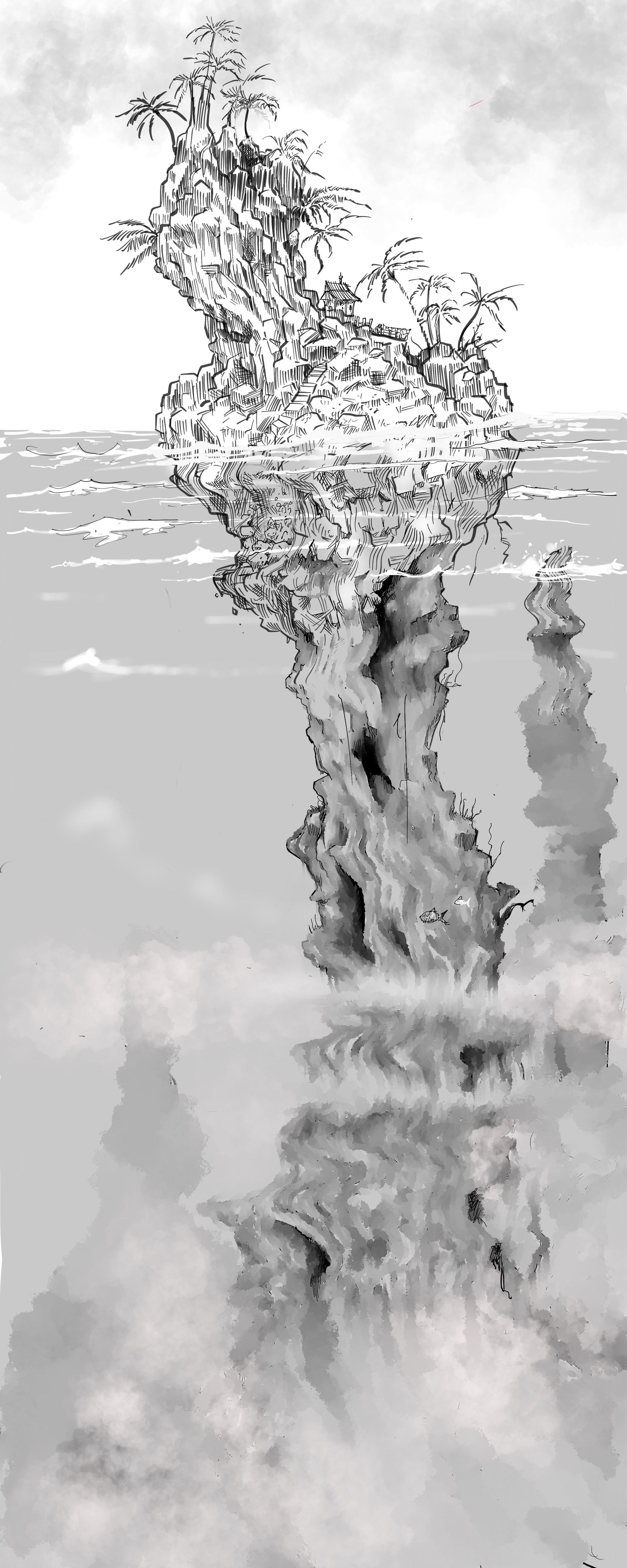 Island doodle extended