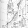 Sketch of Avignon