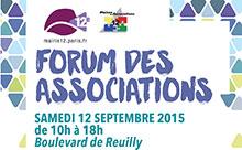 Forum des associations Paris 12