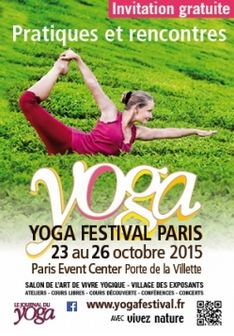 yoga festival paris
