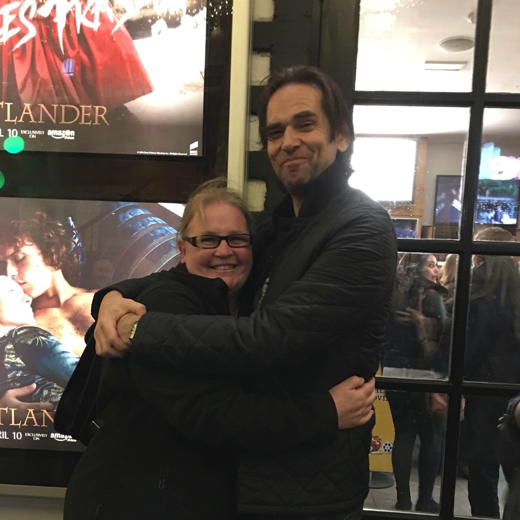 Sam met Duncan Lacroix
