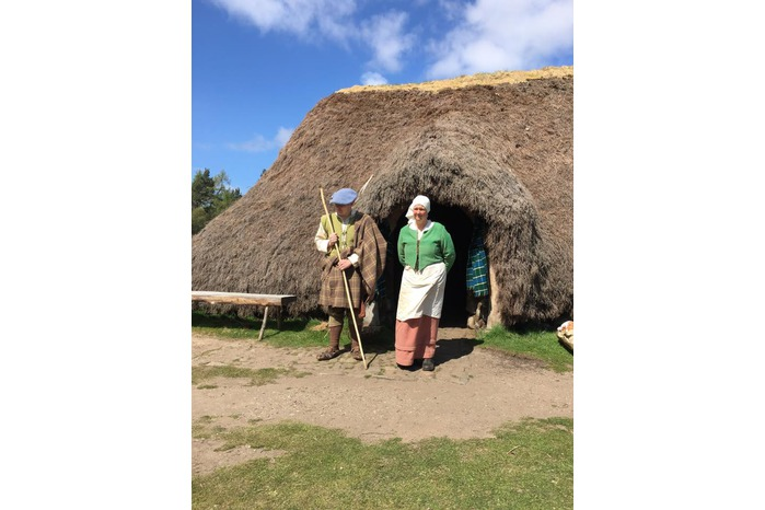 The Highland Folk Museum Outlander Tour