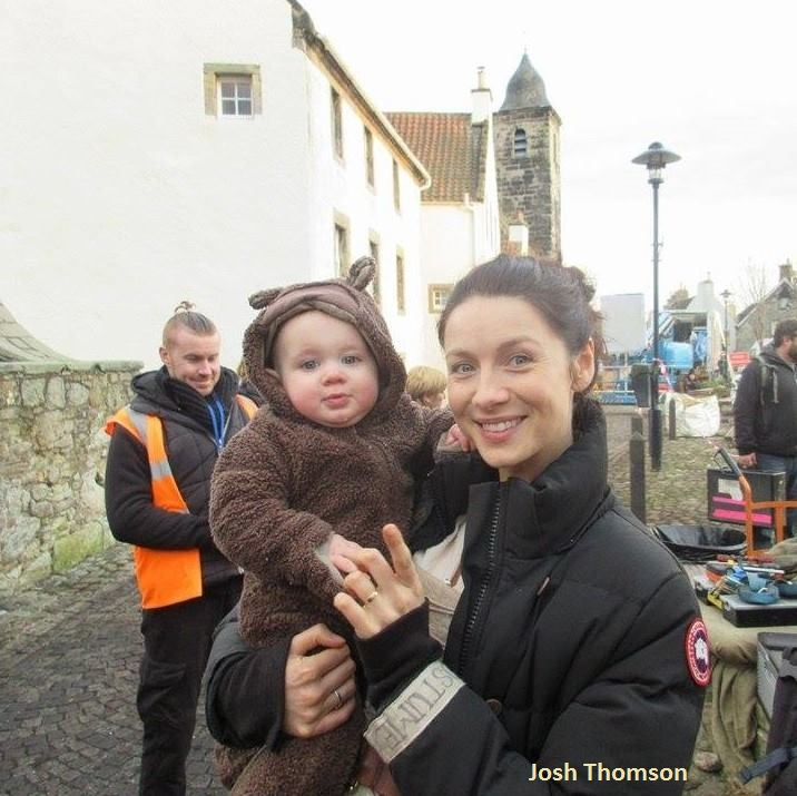 Hector and Caitriona Balfe