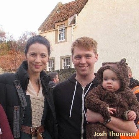 Josh Thomson and Caitriona Balfe