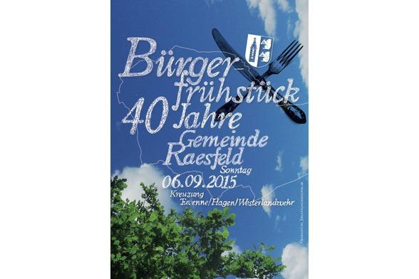 Bürgerfrühstück 40 Jahre Raesfeld