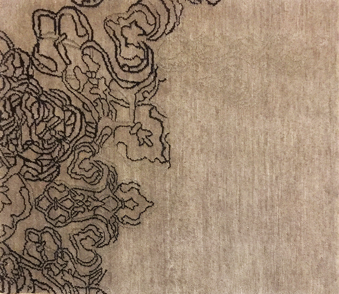 tappeto moderno contemporaneo