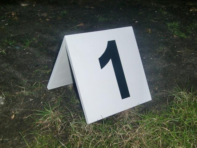 1 Nummernsatz