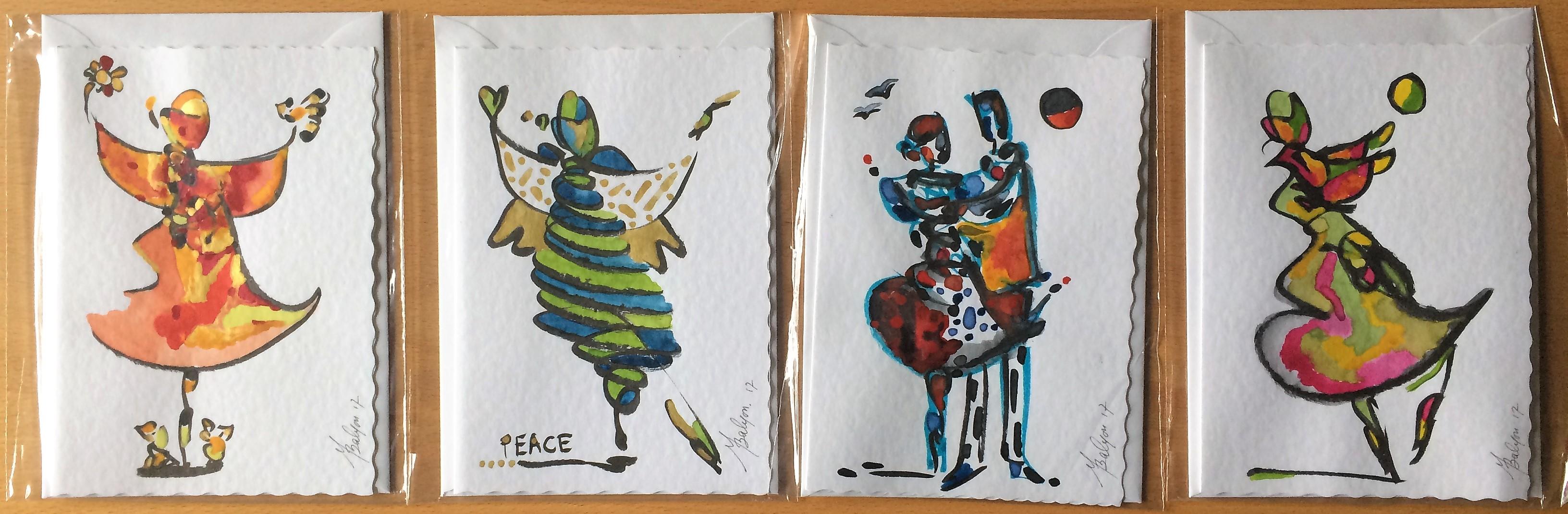 leven cards Set B