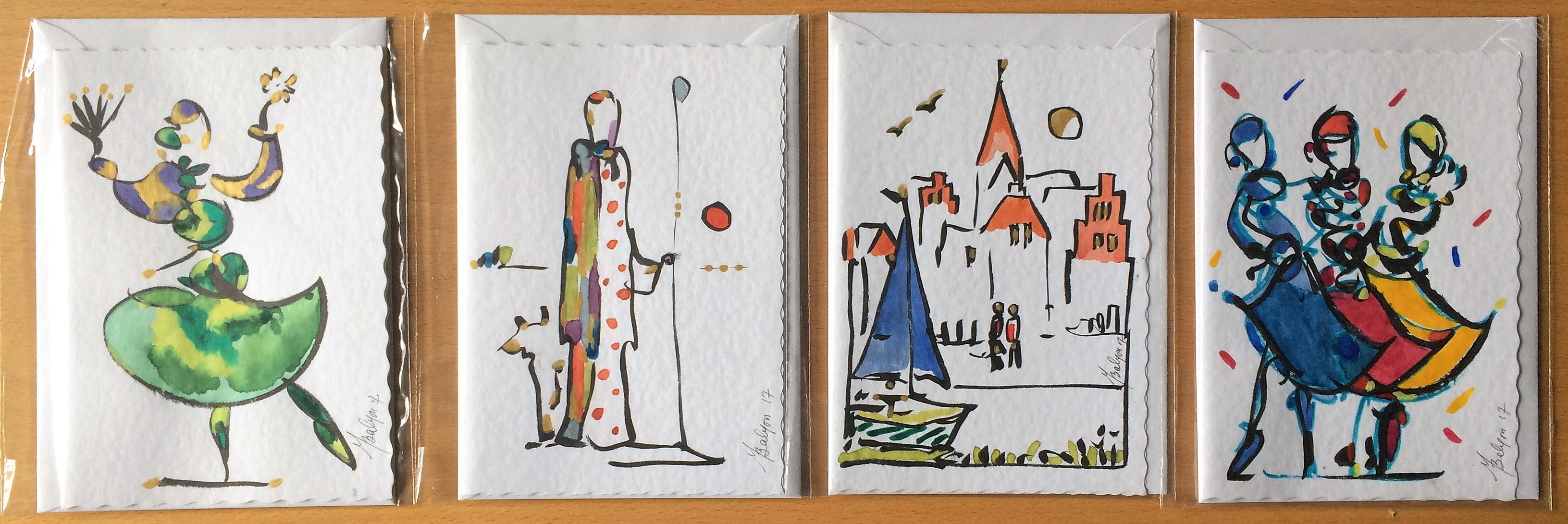 leven Cards Set A