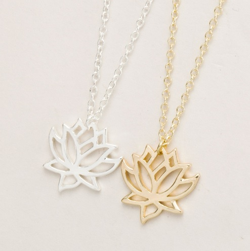 Necklace - Lotus GOLD