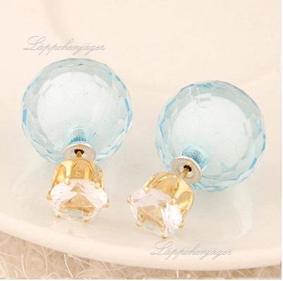 Pearls - Light Blue/Stone 22