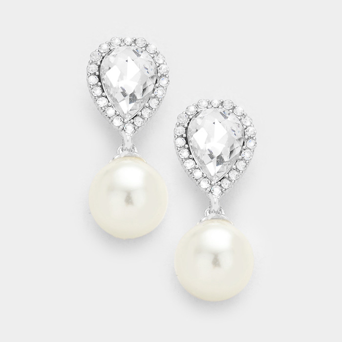 Little Drops - Clear/Silver/White
