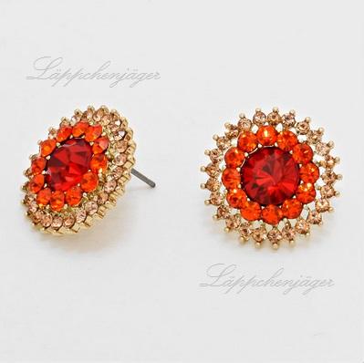 Little Dots - Red/Orange