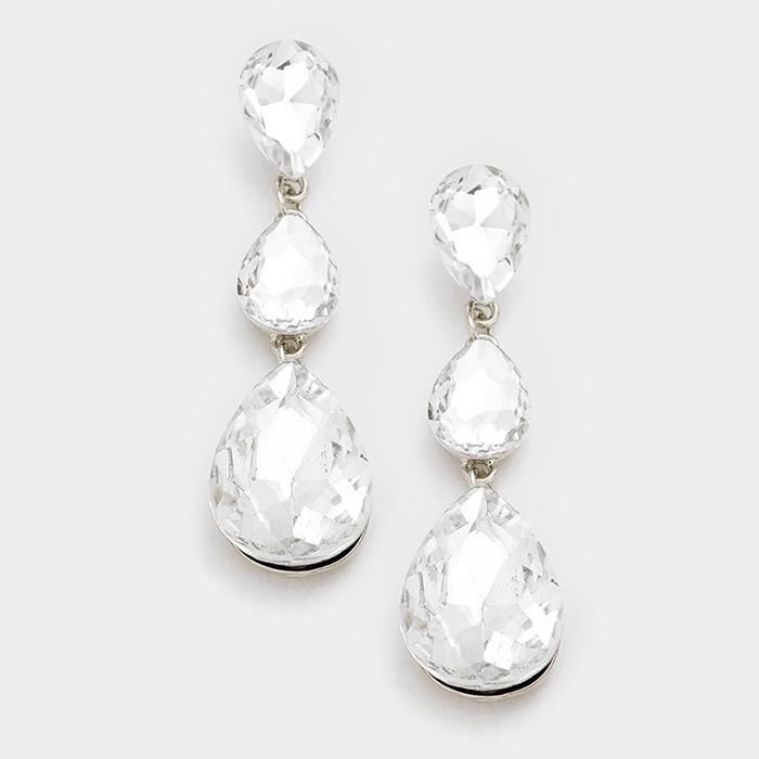 Big Drops - Clear/Silver 03