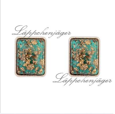Little Hotspot - Turqouise/Gold